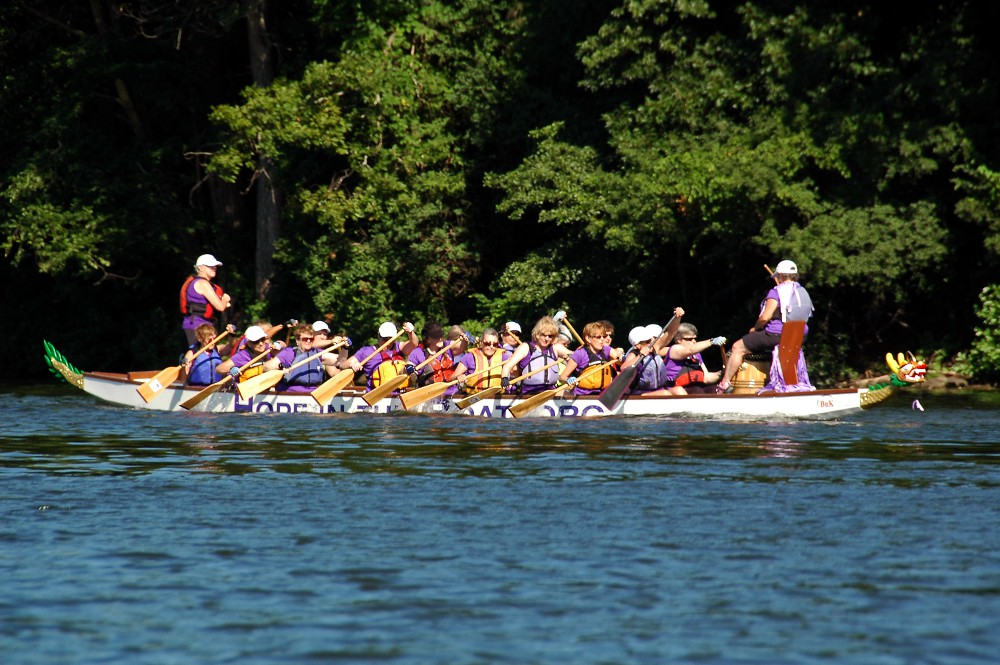 Paddling for a Cure (Hope in the Boat) 08