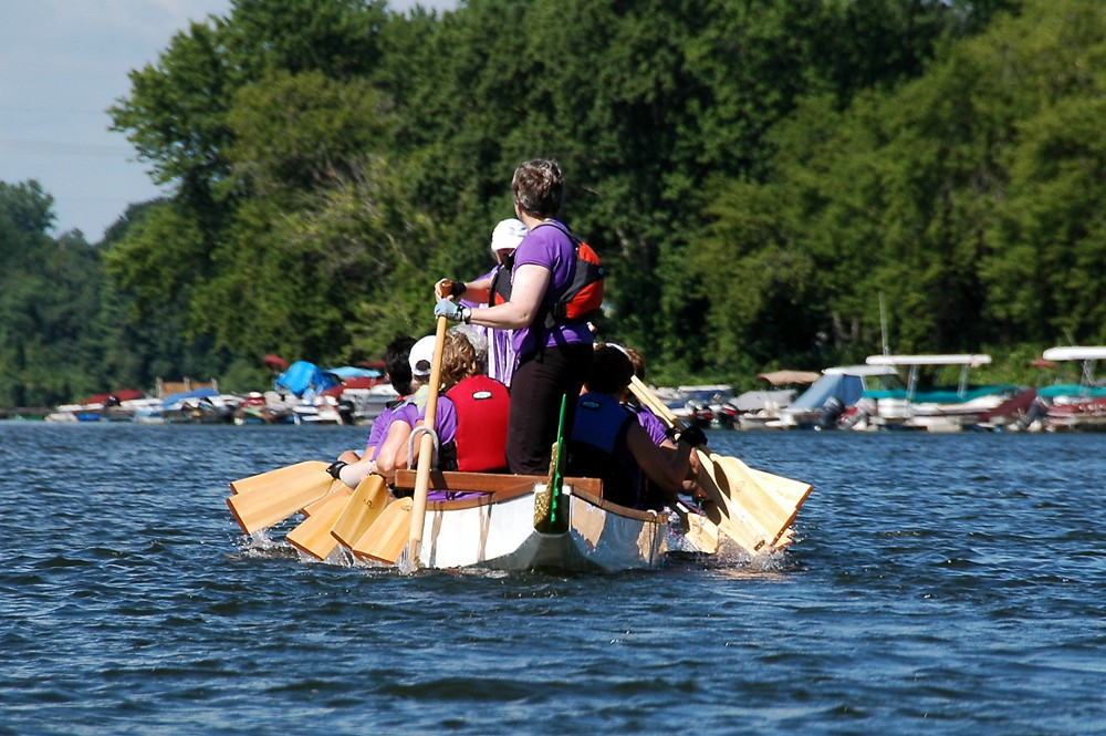 Paddling for a Cure (Hope in the Boat) 17