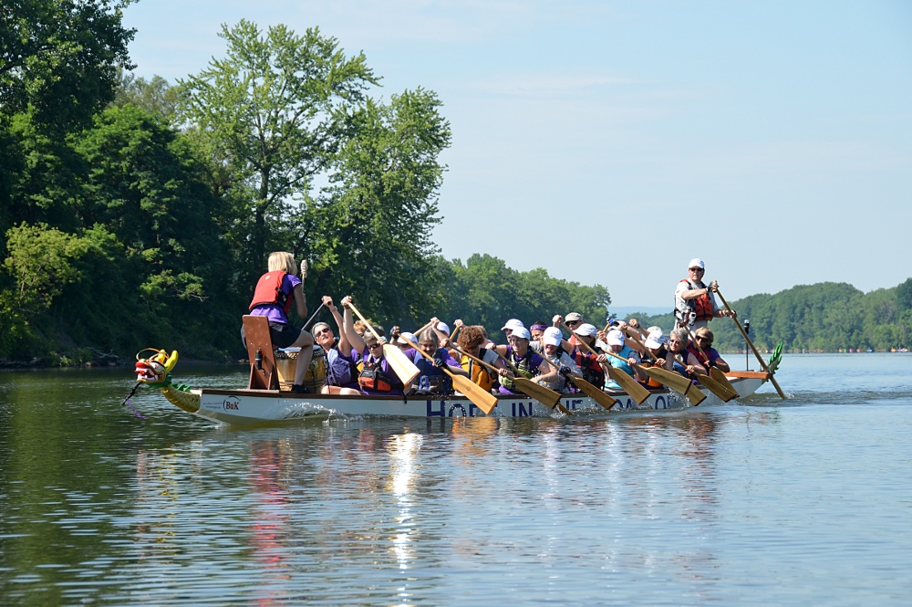 Paddling for a Cure (Hope in the Boat) 13