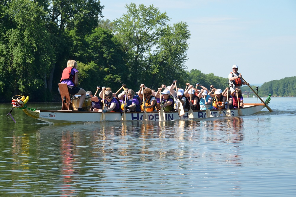 Paddling for a Cure (Hope in the Boat) 14