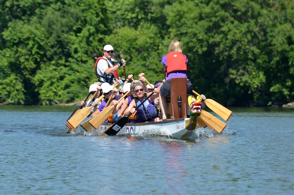 Paddling for a Cure (Hope in the Boat) 16